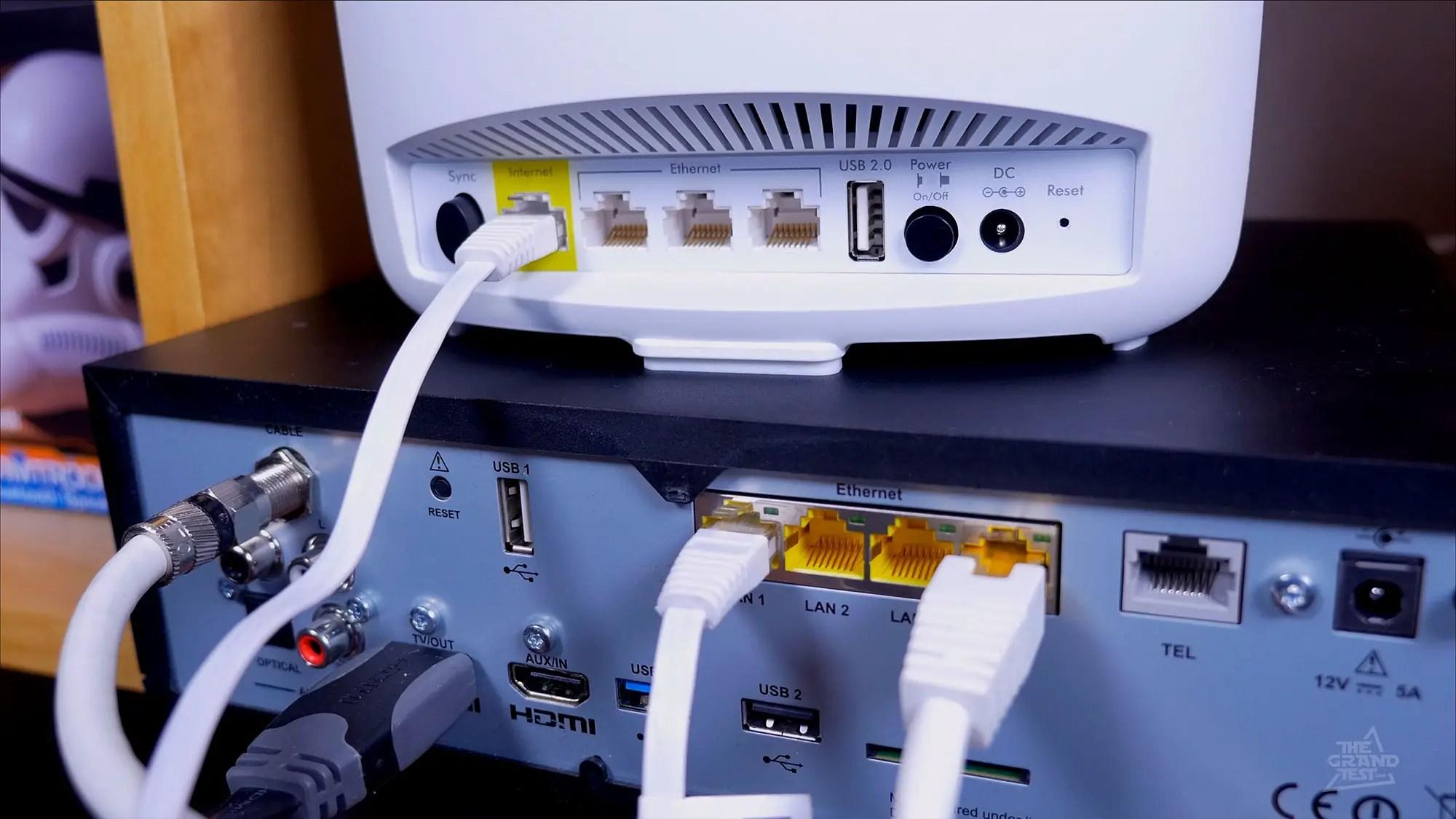 un routeur derriere votre box internet