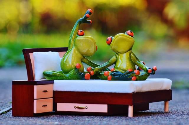 méditation au lit