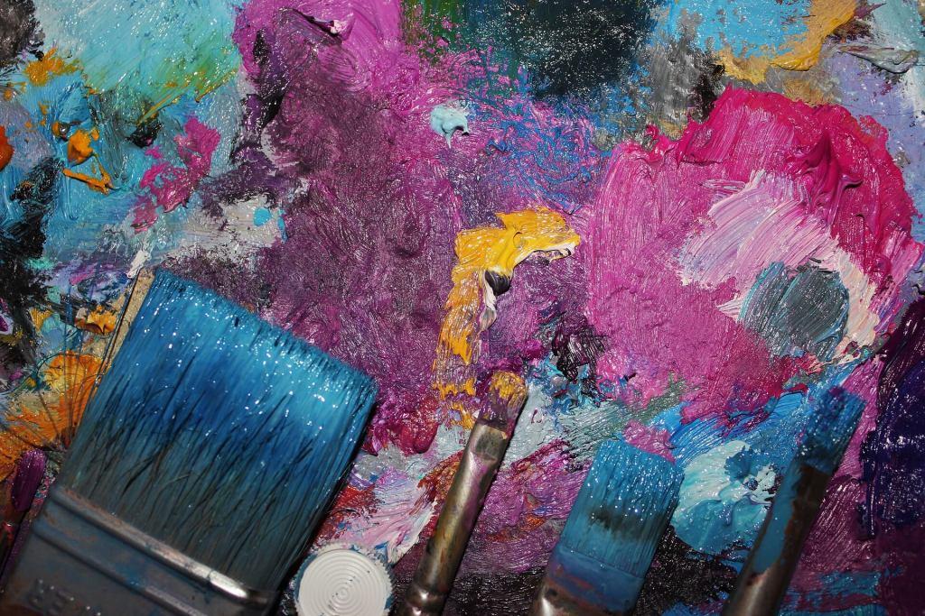 Peinture aquarelle, acrylique, loisirs créatifs