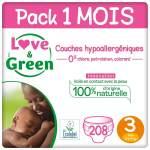 Couches bébé Love & Green