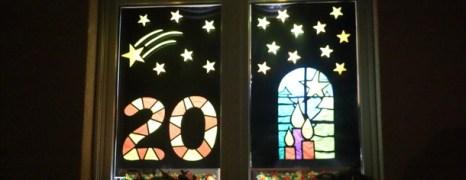 Fenêtres de l'avent à Ecublens