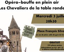 Opéra en plaine air !