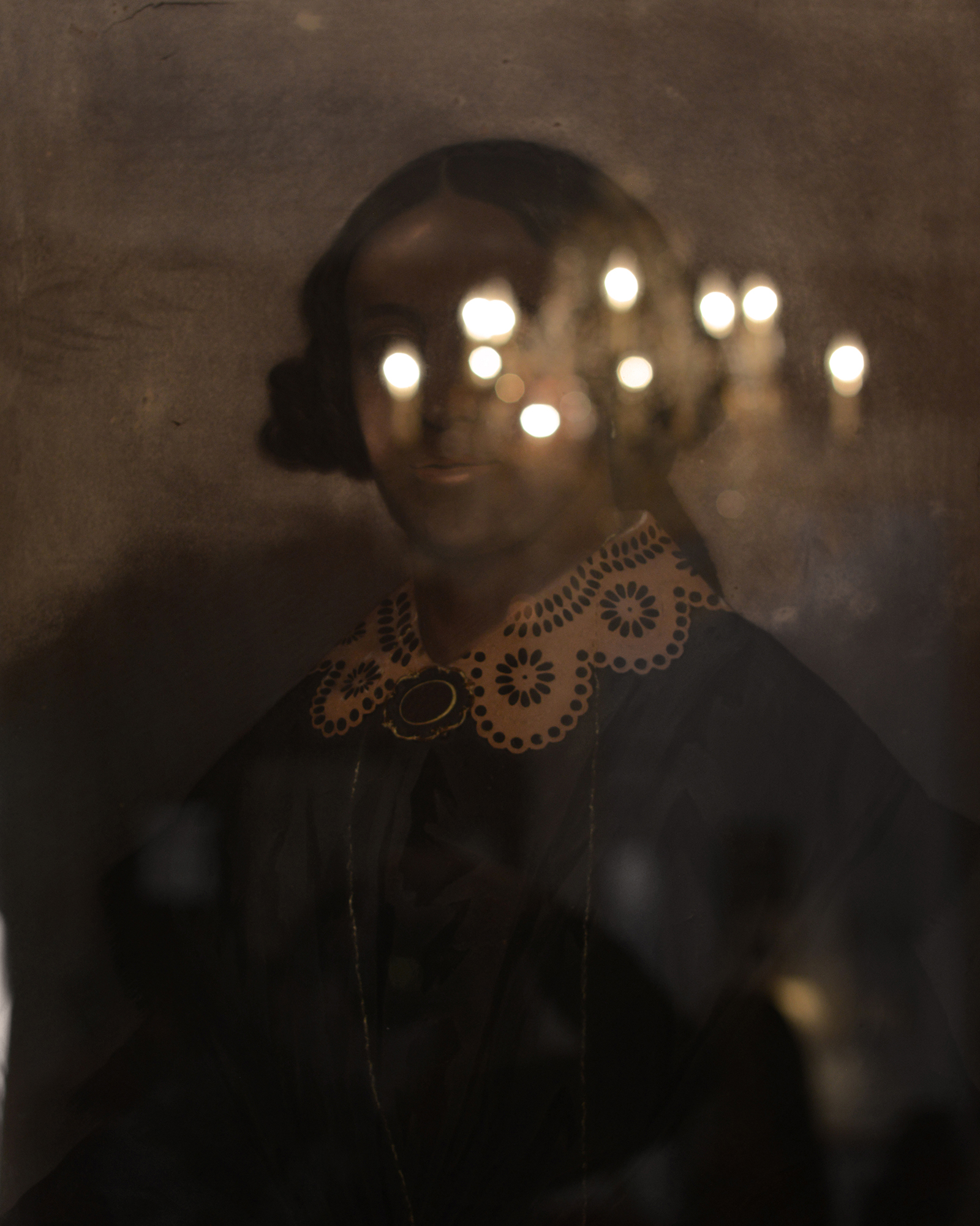«Portrait of Lady» presumed to be a free woman of color, dated 1857, Le Musée de free people of color, New Orleans.