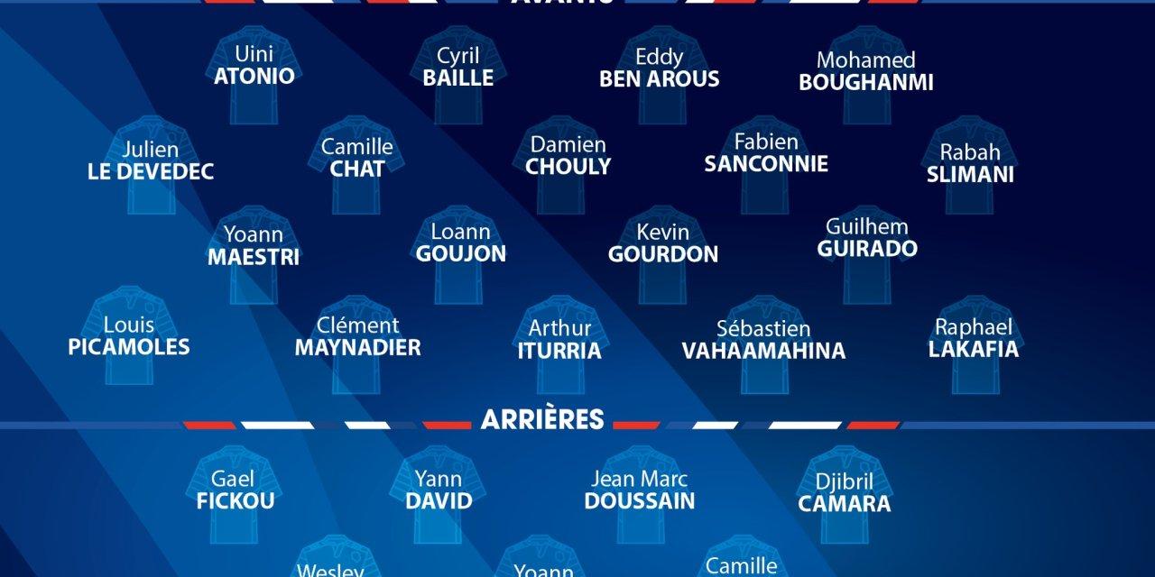 XV de France: Liste des 32 joueurs retenus pour le stage préparatoire