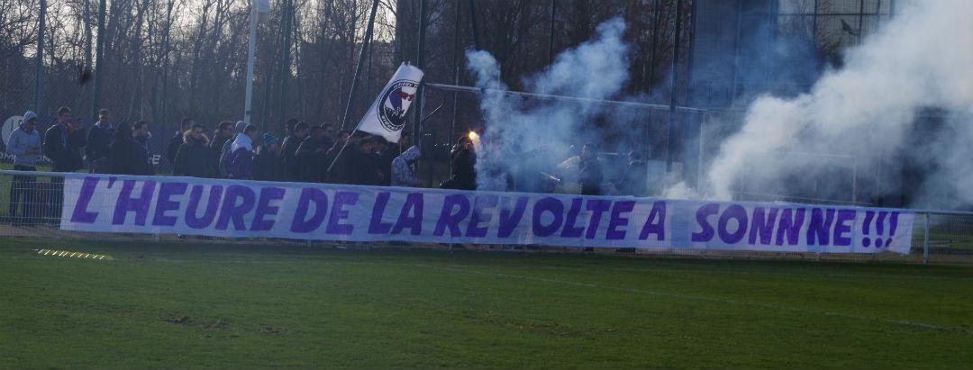 Les supporters du TFC font monter la pression avant le derby face à Bordeaux