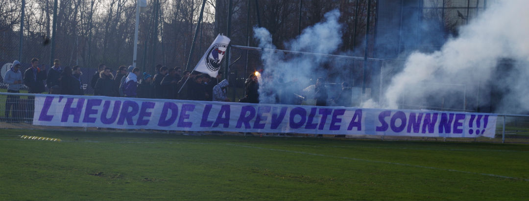 Les supporters du TFC font monter la pression avant le derby face à Bordeaux