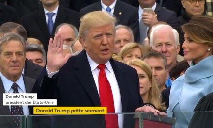 Donald Trump est le nouveau président des Etats-Unis