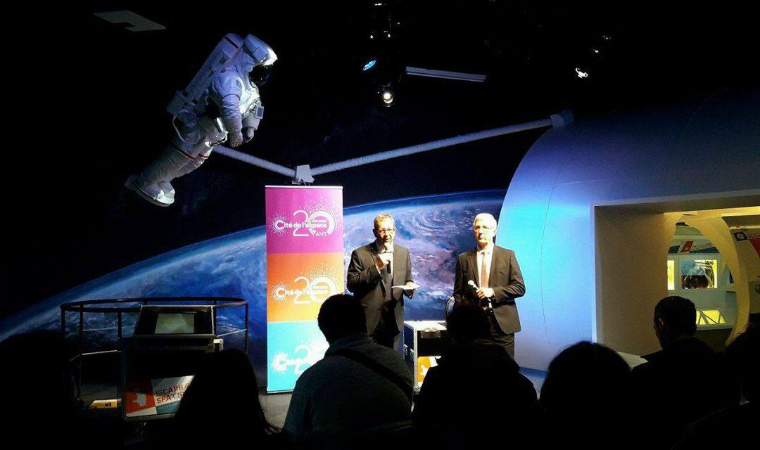 La Cité de l'Espace fête ses 20 ans avec une programmation de haut niveau
