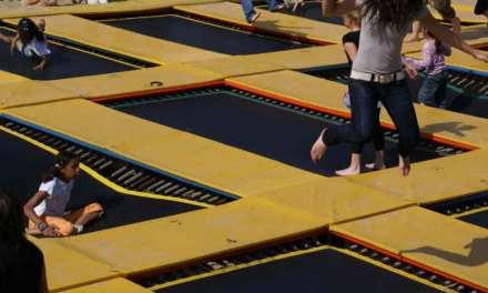 Idée sortie : Le plus grand Trampoline Park de France