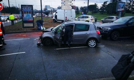 Trois personnes blessées dans un accident à Toulouse
