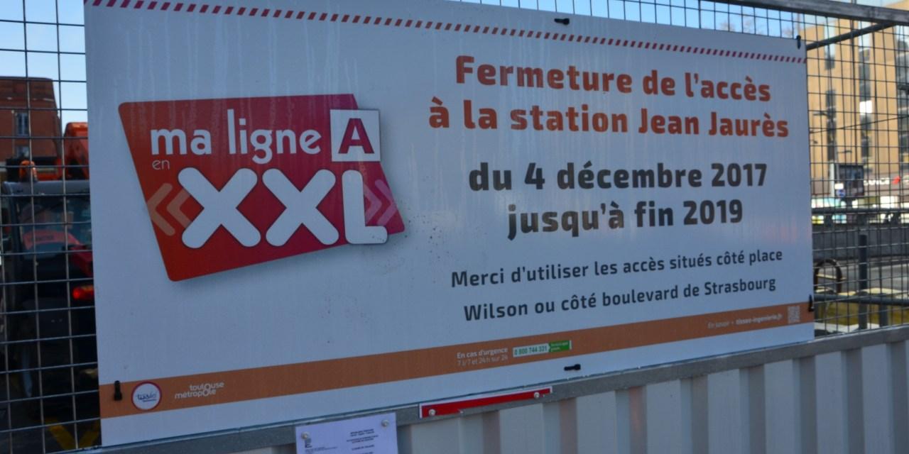 Jean-Jaurès : quartier perturbé suite aux travaux de la station