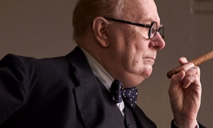 Gary Oldman grandiose en Winston Churchill