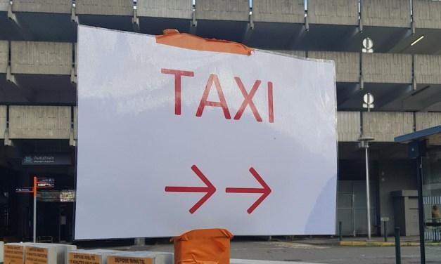 Les taxis toulousains annulent le blocus de la gare Matabiau