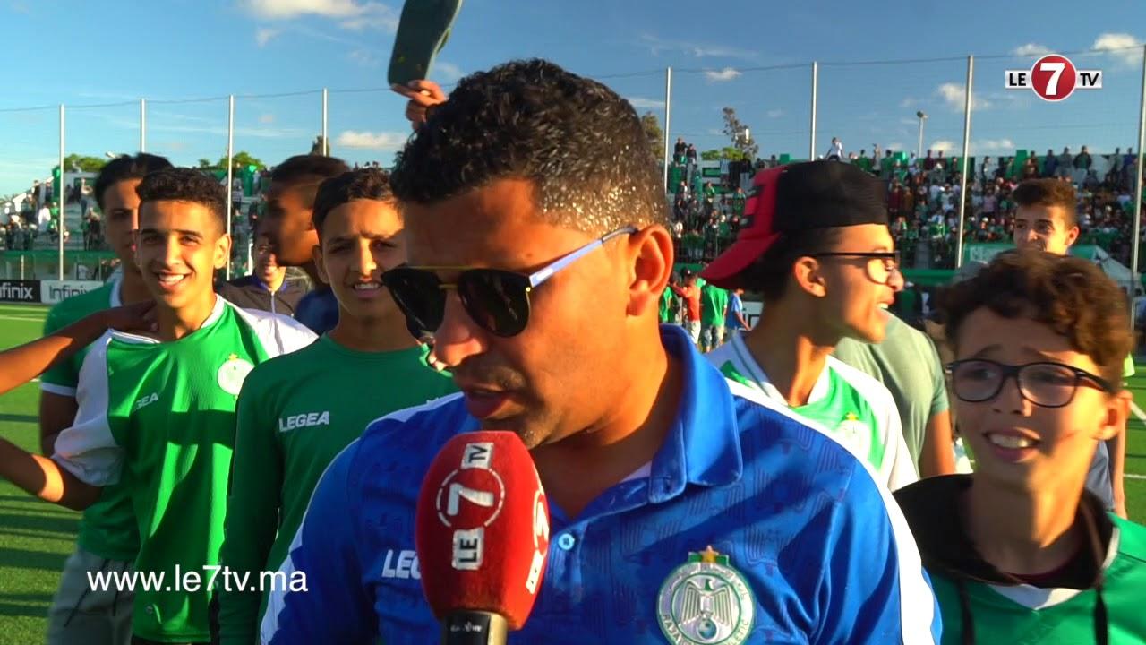 لمباركي: المباراة أمام أكاديمية محمد السادس لم تكن سهلة وسنقاتل للعودة بالتأهل من مدينة الرباط