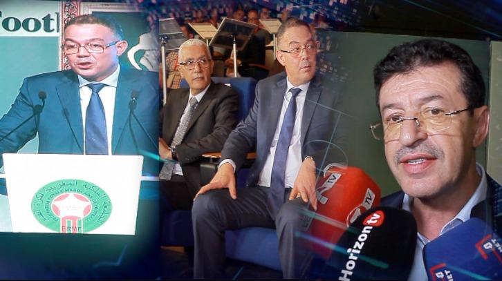 """"""" عبد المالك أبرون"""":لازم الكل يساند لقجع من أجل تطوير كرة القدم """" ونديو حتا حنا الكأس كيفما الجزائر"""""""