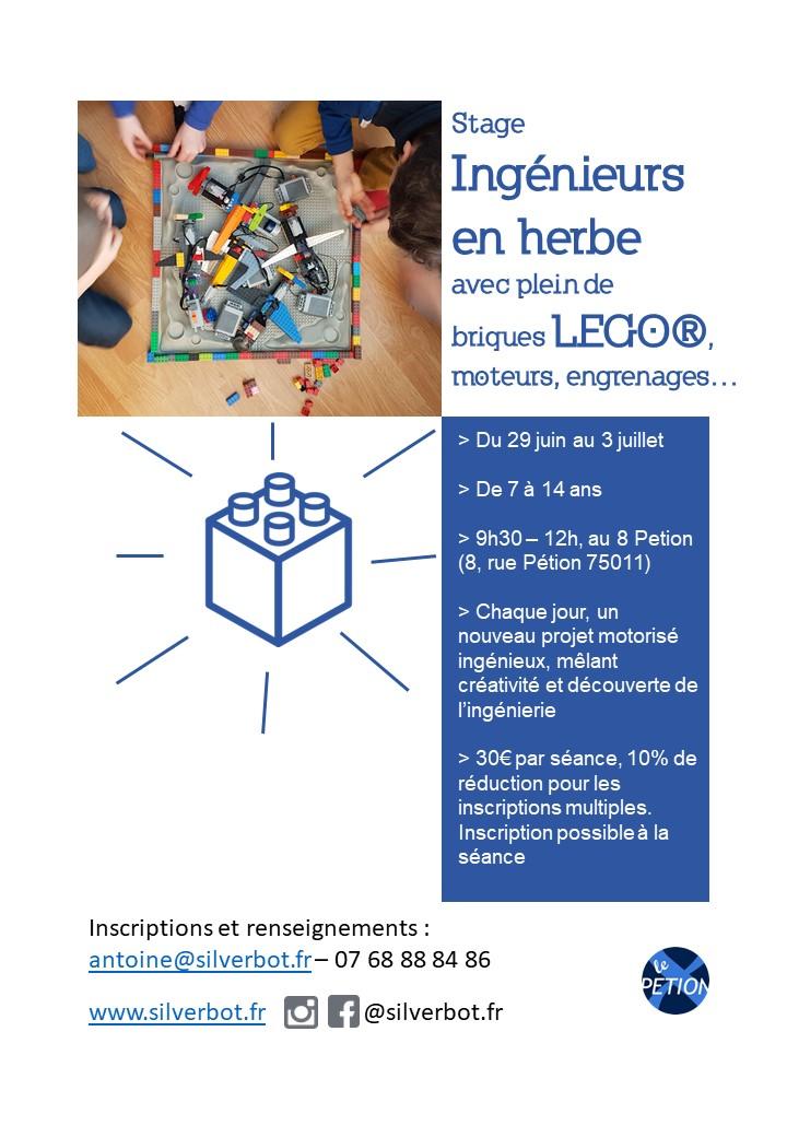 un stage enfants ateliers LEGO