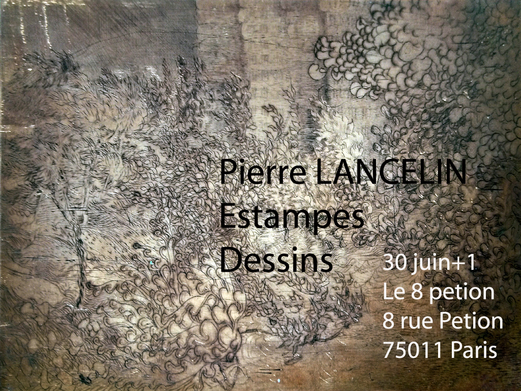 Exposition vernissage Pierre Lancelin