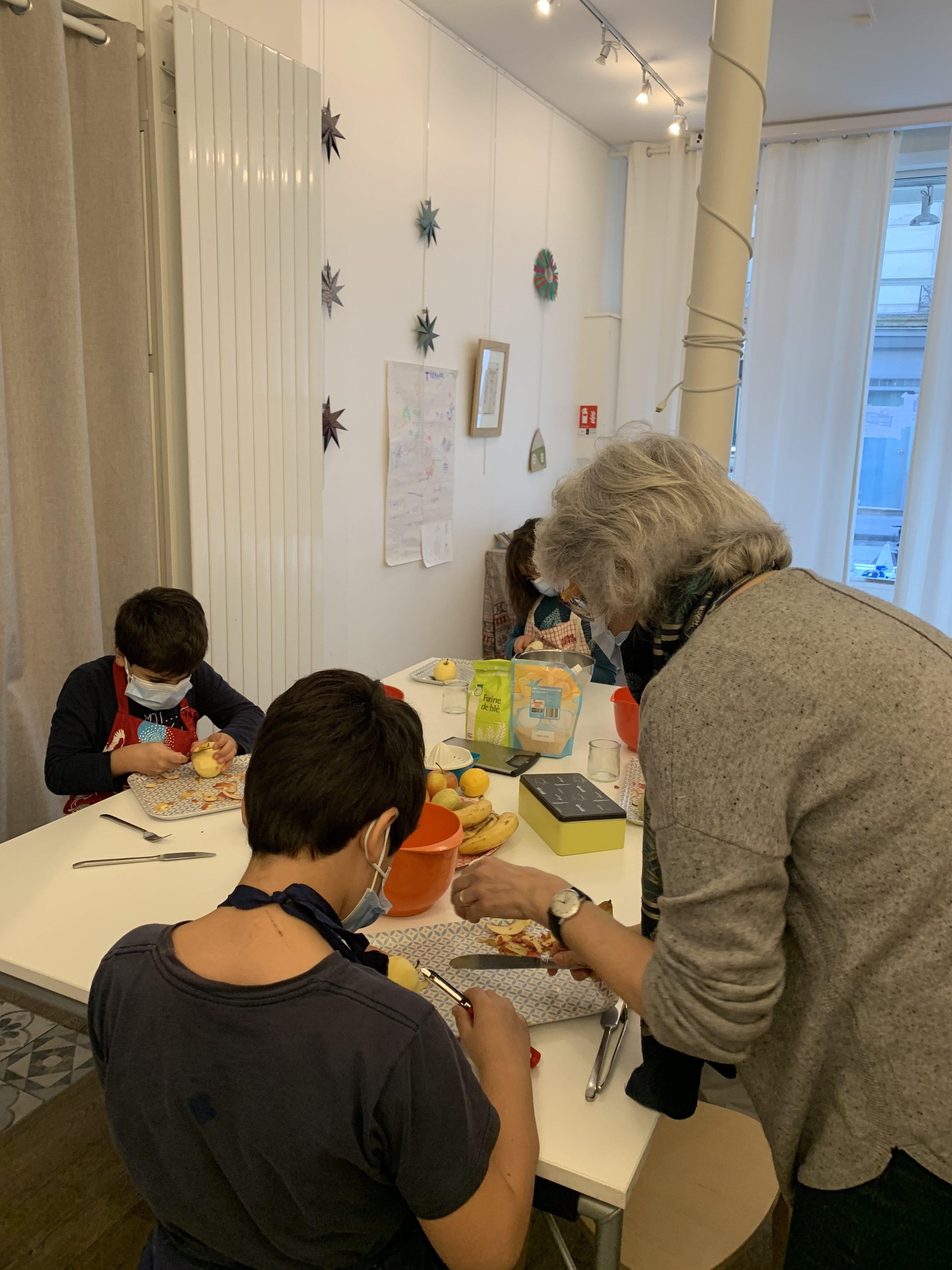 ateliers et stages enfants les mercredis et vacances scolaires