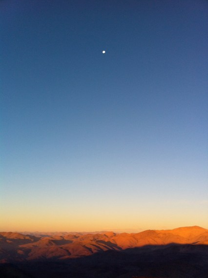 LCO; moon over Argentina (looking E)