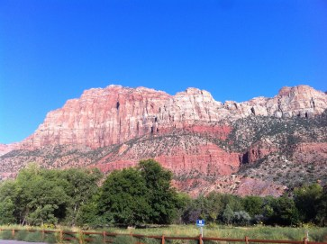 Zion National Park, UT. For a conference; September 2014