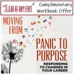Workbook - Moving from Panic to Purpose
