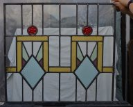 R270f. SOLD. £140. Made from two separate panels. Edges releaded.