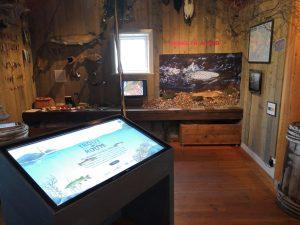 Öringshörnan på Ålands jakt- och fiskemuseum