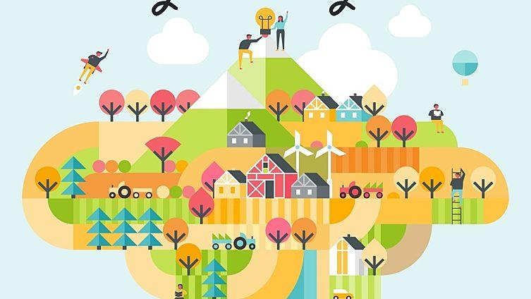 Tävla om start up-finansiering för att bli en Smart by