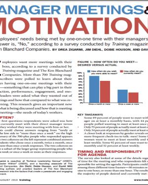 Training Magazine Manager Meetings & Motivation
