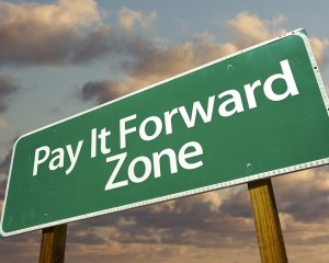 Pay It Forward Sign