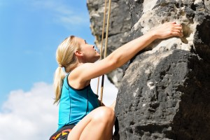 Rock Climbing Persistence Resilience