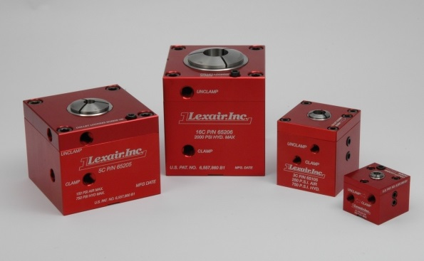 Leader Lexair Pneumatic - Low Pressure Hydraulic Collet Closers