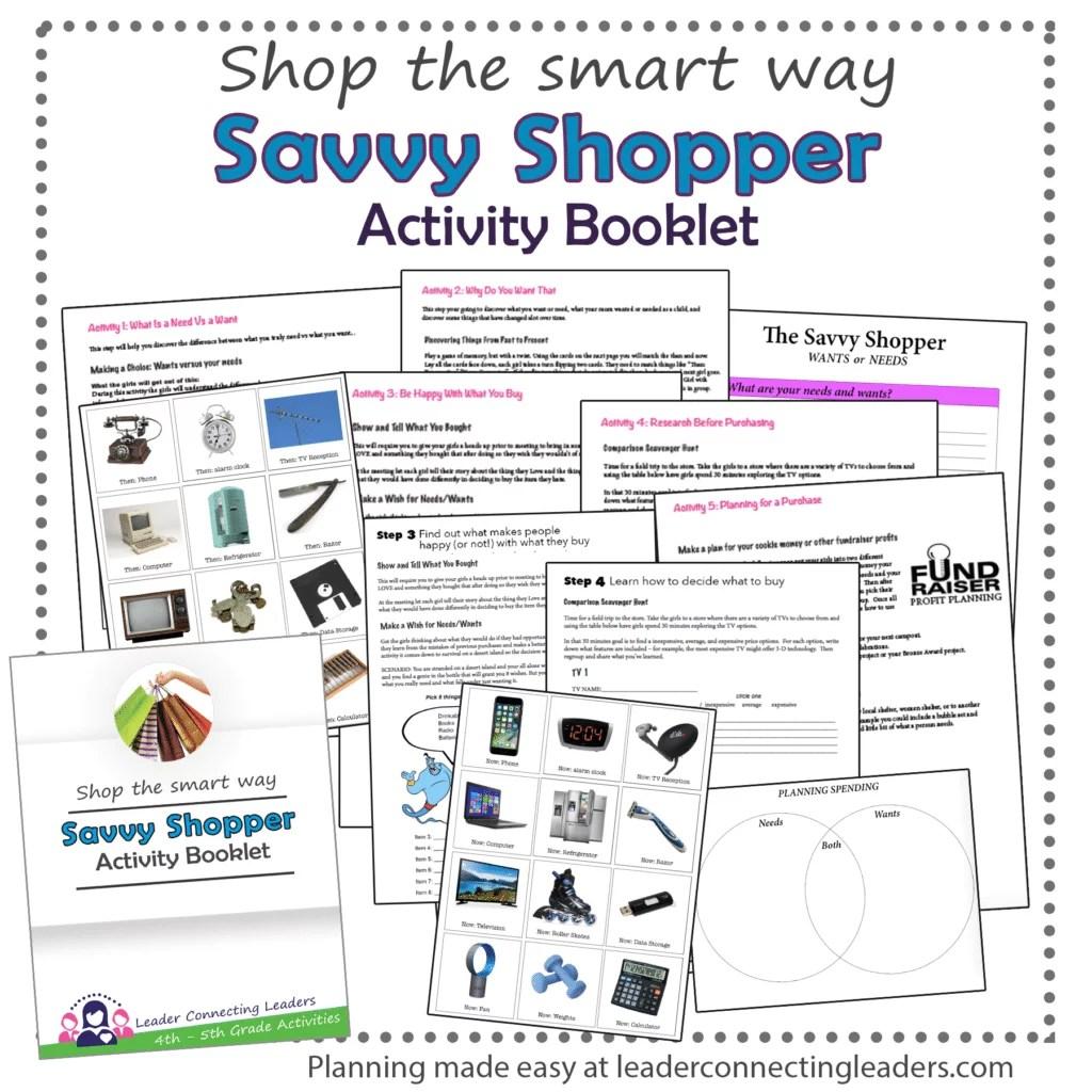 5 Fun Activities To Earn The Junior Savvy Shopper Badge