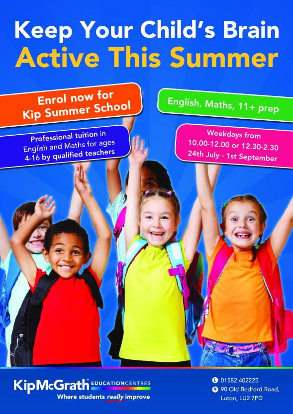 Kip McGrath Summer School Luton