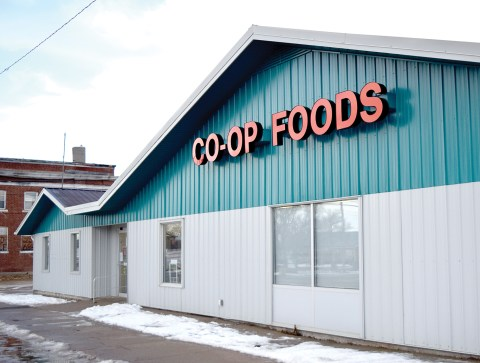 Pictured is the Co-op grocery store in Craik.