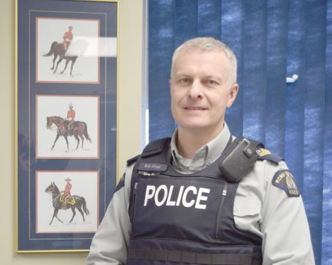Sgt. Greg Doell is the new commanding officer at the RCMP detachment in Craik.
