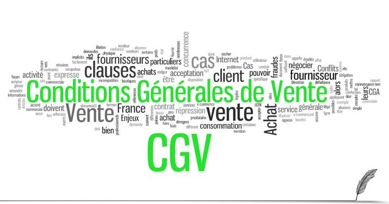Conditions générales de vente (CGV)
