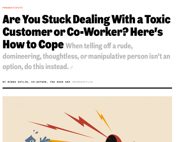 Toxic Co-Workers