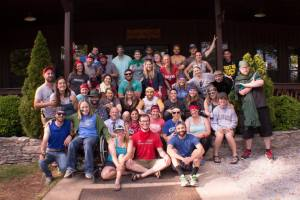 Grown Ups Camp Group Photo 2016