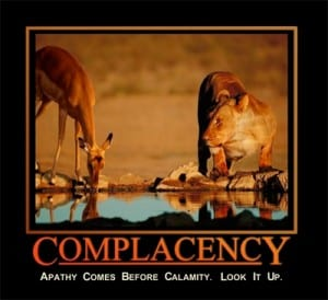 Complacency and Leadership