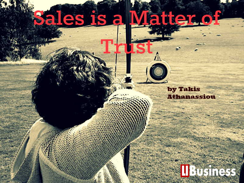Sales is a Matter of Trust