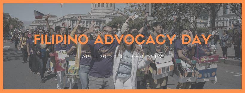2 Weeks Away: Filipino Advocacy Day!