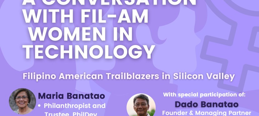 "Board Member, Alex Chu, Featured Speaker at ""A Conversation with FilAm Women in Technology"""