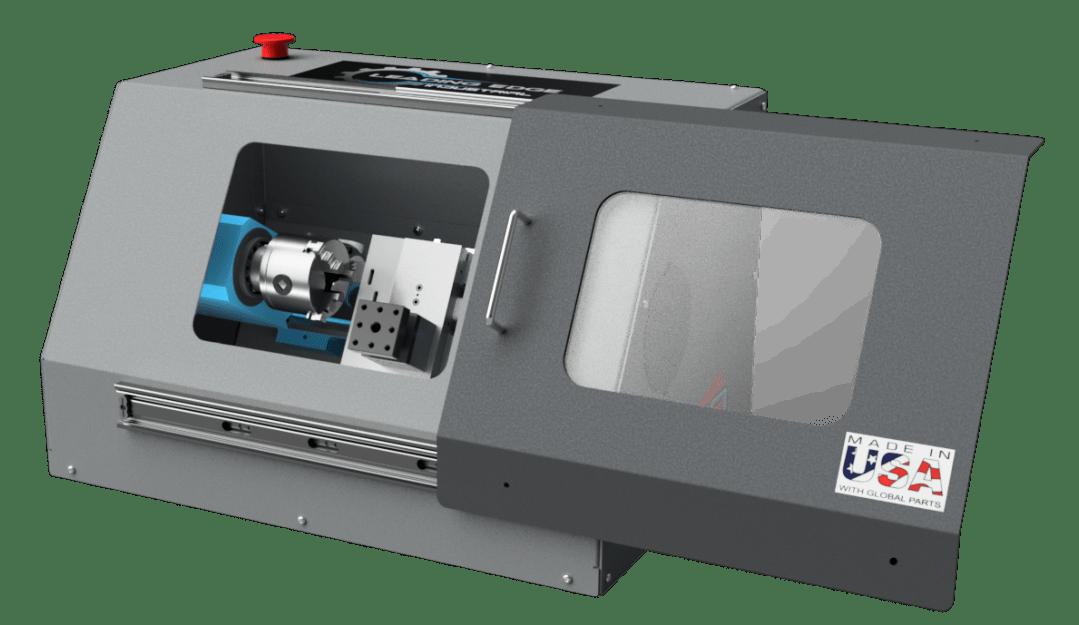 LEI HX710 Turning Center Render