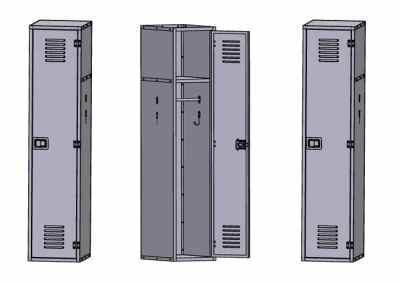 Aluminum Module Lockers