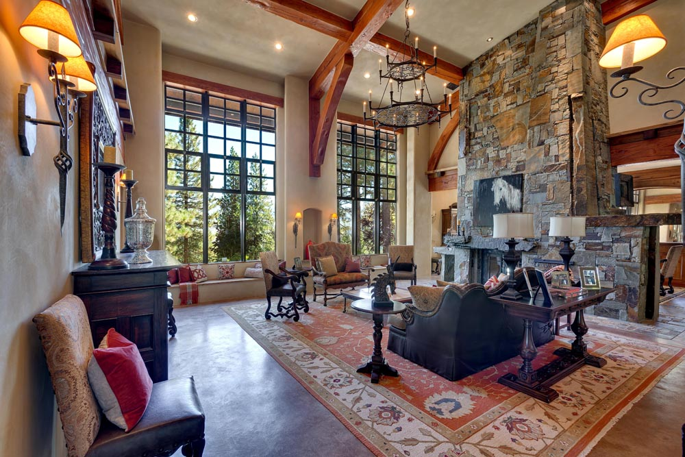 Sierra Vista Estate  Truckee  California   Leading Estates of the World     eight acre estate surrounded by a pristine mountain meadow offers  abundant opportunity for outdoor pursuits  Luxurious yet relaxing  the  home s interior