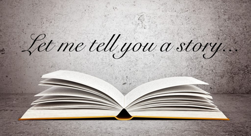 Don't give advice – tell a story instead