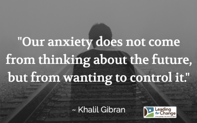 Dealing with anxiety so you're not anxious
