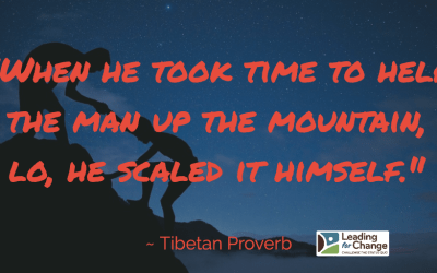 Lead them to the top of mountains