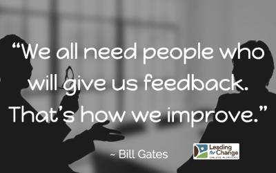 Keep the feedback flowing!